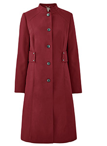 RED SMART COAT