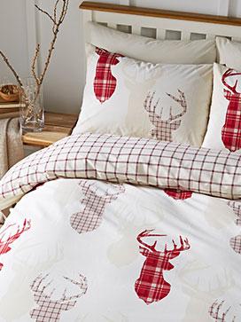 Festive bedding