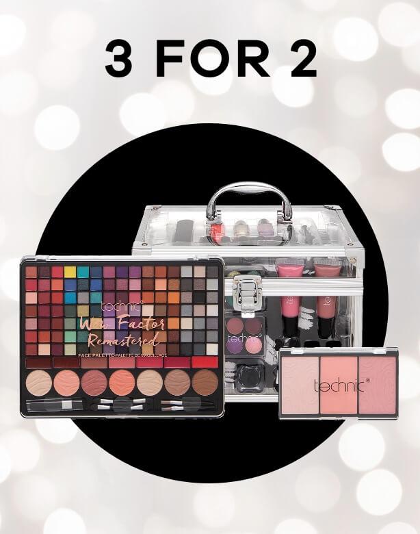 3 for 2 On selected beauty