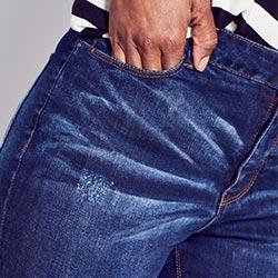 Bridget straight jeans waist