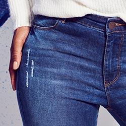 Eve bootcut jeans waist
