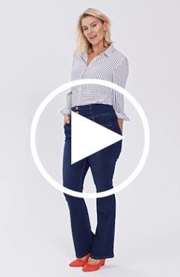 Shape & Sculpt jeans video
