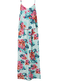 Printed Layered Maxi