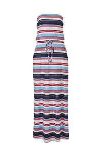 MAXI STRETCH BANDEAU DRESS