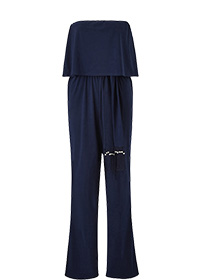 TOGETHER BANDEAU JUMPSUIT