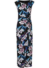 JOANNA HOPE MULTI PRINT MAXI DRESS