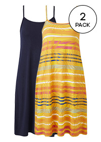 PACK OF 2 CAMI DRESSES