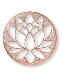 Blossom metal art
