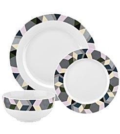 Geometrics dinner set