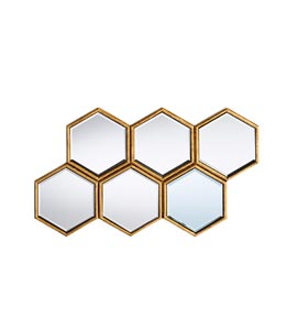 Hexagon cluster mirror