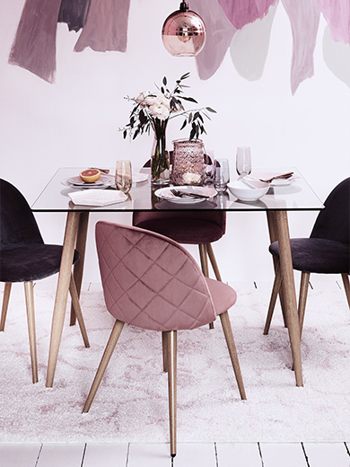 Modern Boudoir Dining Set