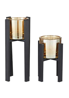 Hestia Metal Tealight Holders