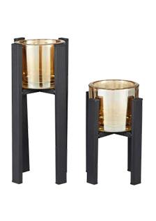 Hestia Metal Tealight Holders