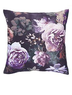 Dark Wonder Floral Cushion