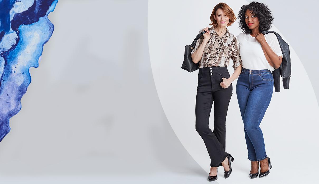 Shape fit jeans