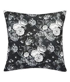Dark Floral Cushion