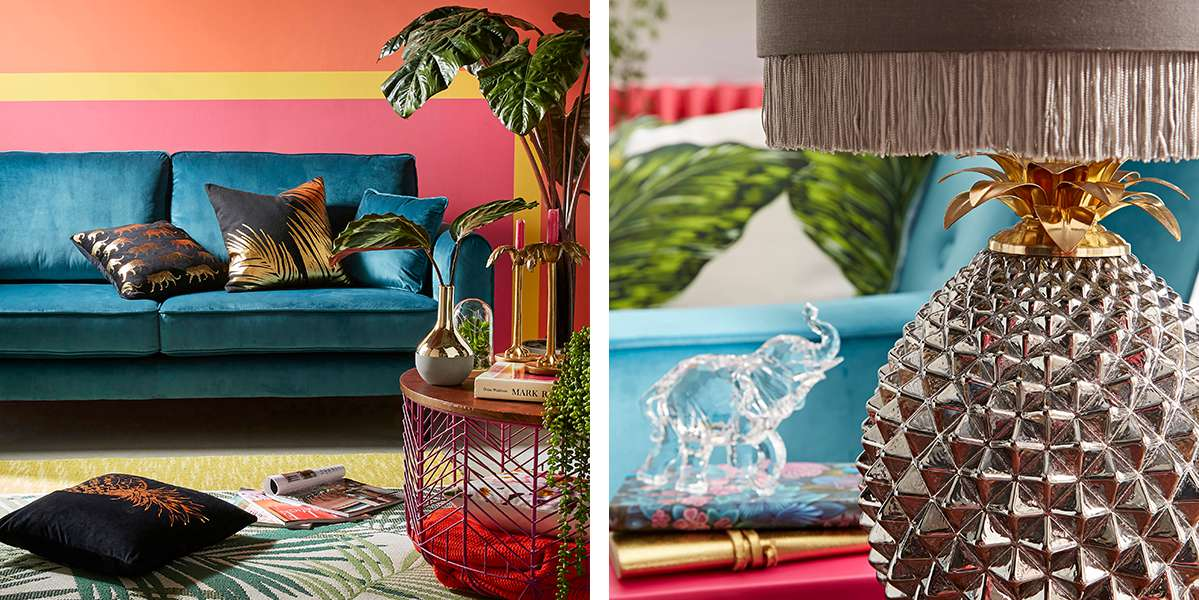 Paradise living room and accessories