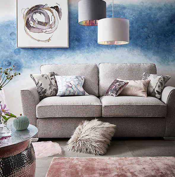Dream Zone living room and furnishings