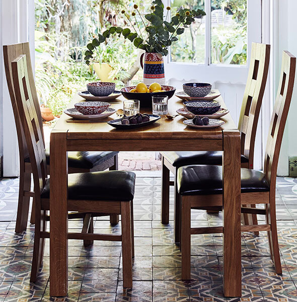 Mediterranean Escapade dining room