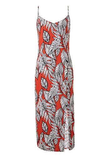 African Print Crinkle Cami Dress