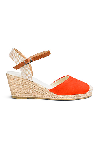 Wedge Sandals with Ankle Strap