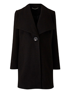 Smart Large Collar Coat