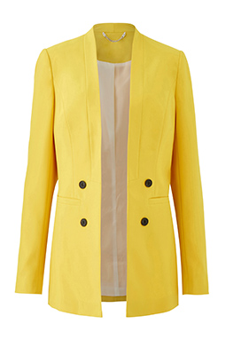 Yellow Fashion Blazer