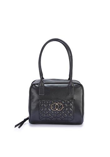 Black bowler bag
