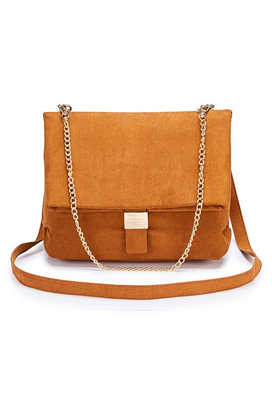 Foldover Chain Bag