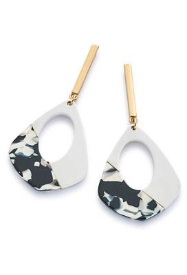 Mono Stick Drop Earrings