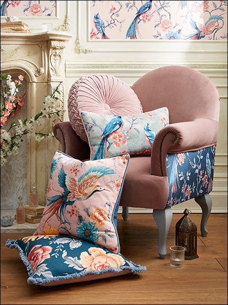 French Blossom Cushions