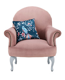 French Blossom Arm Chair