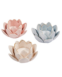French Blossom Candle Holders