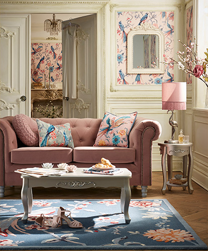 French Blossom Living Room Furniture