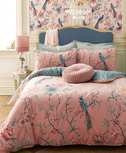 French Blossom Bedroom