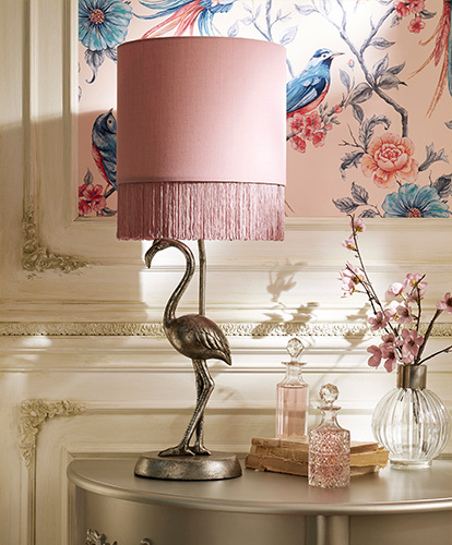 French Blossom Lamp