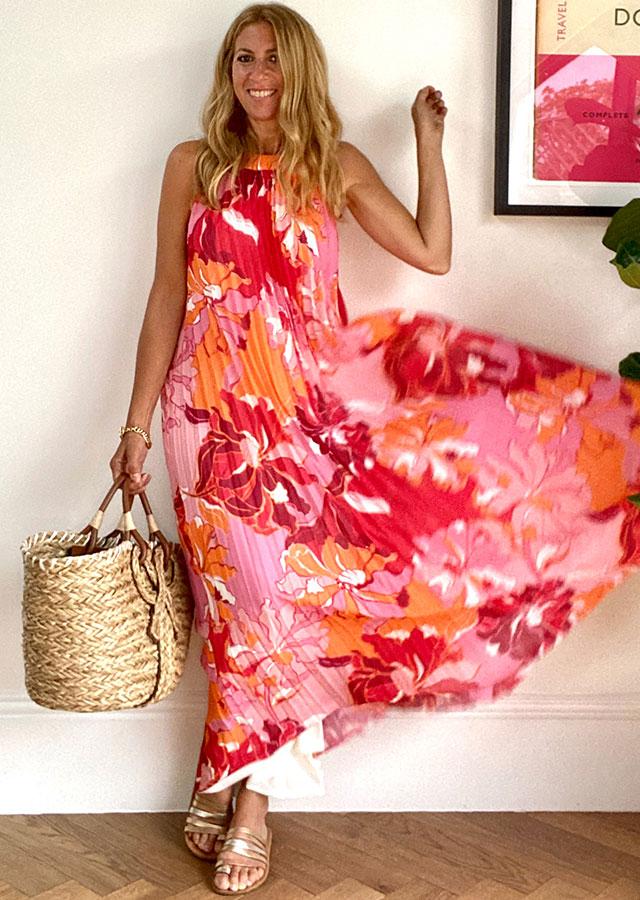 Pink Summer Maxi