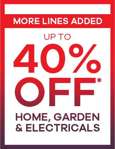 Home Sale up to 40% Off