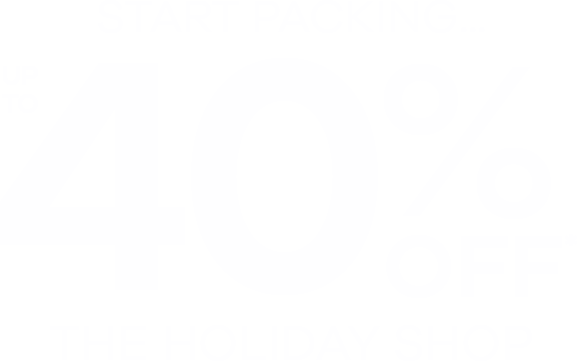 40% Off the Holiday Shop
