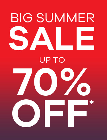 Big Summer Sale up to 70% Off*