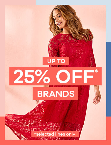 Up to 25% Off Brands