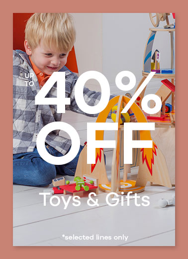 40% off Toys and Gifts