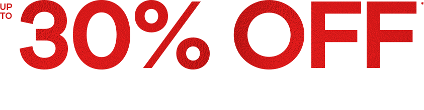 Love an Offer up to 30% off Big Brands Event