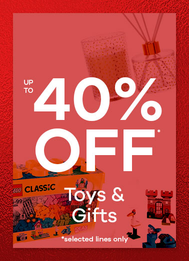 up to 40% off Toys & Gifts