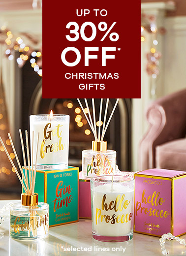 up to 50% off selected Christmas Gifts