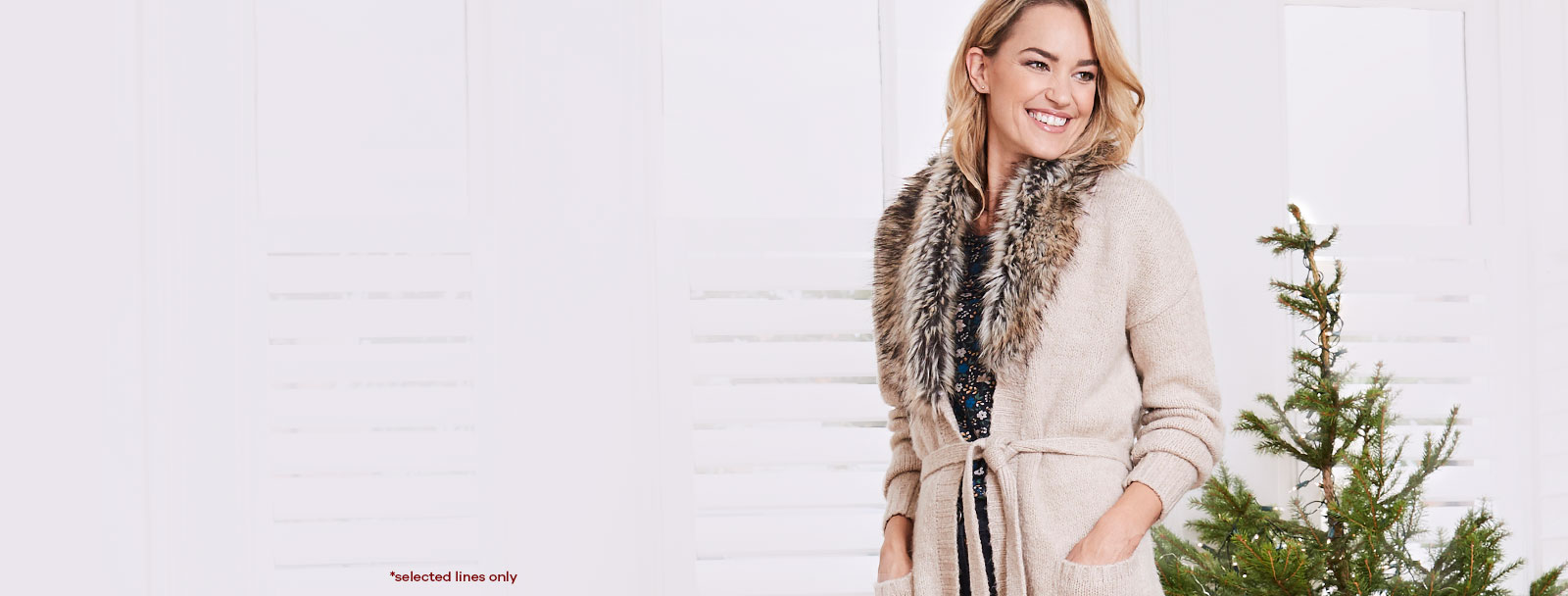 up to 50% Off* Coats, Knits & Boots