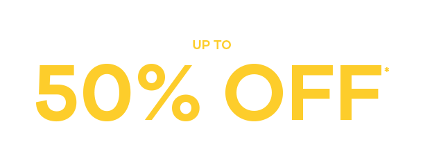 Spring Sale up to 50% Off* Savings across thousands of styles