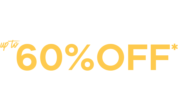 Refresh your wardrobe with up to 60% off* Fashion and Footwear
