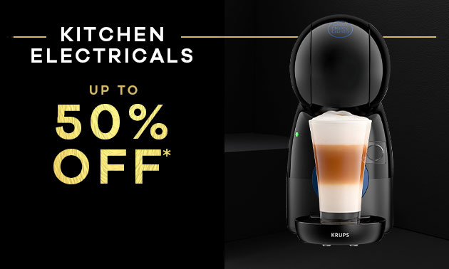UP TO 40% OFF kitchen ELECTRICALS