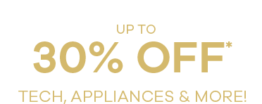 up to 30% off tech